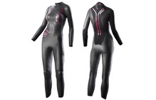 2XU A:1 Active Wetsuit Triathlon Kleding Dames paars/zwart